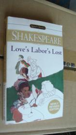 Love's Labor's Lost by William Shakespeare 英文原版 近新