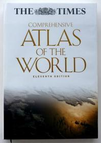 英国原版 泰晤士 世界综合地图集 The Times Comprehensive Atlas of the World 11th Edition 第11版