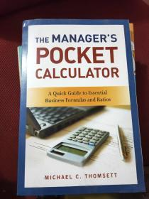 The Managers Pocket Calculator: A Quick Guide to Essential Business Formulas and Ratios