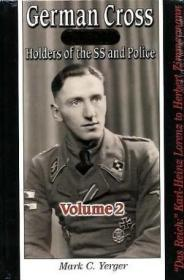 German Cross In Gold - Holders Of The Ss And Police, Volume 2 - Das Reich