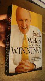 JACK WELCH With Suzy Welch: Winning(英文原版正版,16开厚本)