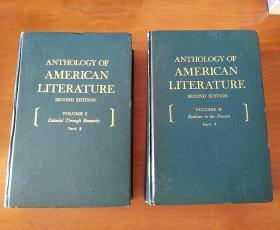 ANTHOLOGY OF AMERICAN LITERATURE (VOLUME I Part2)/(VOLUME II Part2)