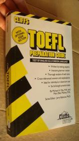 Cliffs TOEFL Preparation Guide (Test of English as a foreign language) 托福考试全面指导   英文原版 品好未好。内容翔实。