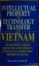 英文原版 Intellectual Property and Technology transfer in Vietnam