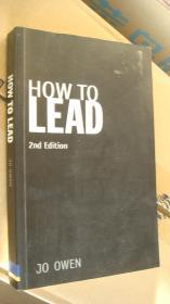 HOW TO LEAD (2nd edition) :What you actually need to do to manage,lead and succeed 英文原版《如果领导》 20开