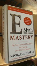 The E-Myth MASTERY: The seven essential disciplines for building a world class company 《如何建设世界一流的公司》 精装16开+书衣,基本全新 厚重