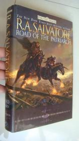 Road of the Patriarch (The Sellswords, Book III)英文原版  精装16开+书衣 近全新