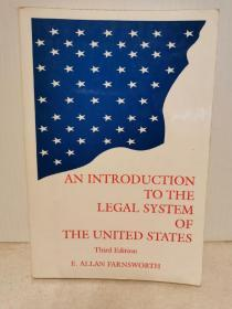 美国法律制度导论 An Introduction to the Legal System of the United States (美国法律)英文原版书