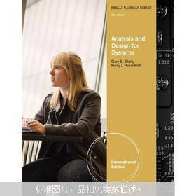 正版原版 Analysis and Design for Systems, International Edition (Shelly Cashman Series)  英文原版大16开 厚重 近新未阅