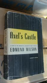 Axels Castle;: A Study In The Imaginative Literature Of 1870-1930   英文原版 24开 1931年美国出版