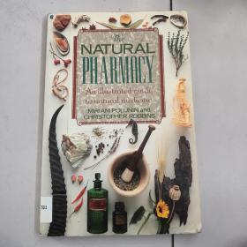 the natural pharmacy:an illustrsted guide tonatural medicine【大16开铜版彩印如图实物图,英文原版】