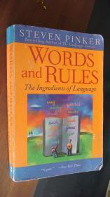 Words and Rules:The Ingredients of Language 英文原版大32开