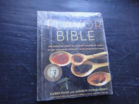 The Flavor Bible: The Essential Guide to Culinary Creativity, Based on the Wisdom of America's Most Imaginative Chefs (英语)