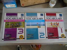 SAP Learning Vocabulary Workbook 1\2\3 英文原版 三本