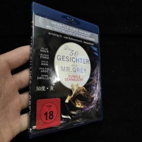 进口蓝光DVD【DIE 50 GESICHTER MR/GREY 1碟盒装】正版光盘成色如新 #87