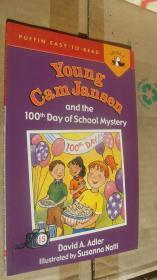 Young Cam Jansen And The 100Th Day of School Mystery 英文原版 彩色插图 20开
