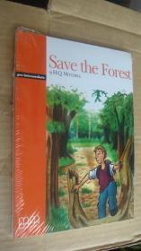 (Pre-intermediate) Save the Forest (Pack including reader,activity book, Audio CD) 两本书夹1张CD 塑封未折