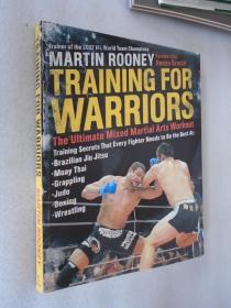 Training for Warriors: The Ultimate Mixed Martial Arts Workout 英文原版 正版现货  16开