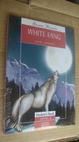 (Graded readers:level 2) WHITE FANG  (Pack including reader,activity book, Audio CD) 两本书夹1张CD 塑封未折