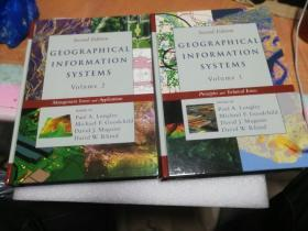 Geographical Information Systems: Principles, Techniques, Applications and Management,  英文原版 地理信息系统(上下册全) 地理信息系统:原理与技术,管理与应用Paul A. Longley , Michael F. Goodchild  , David J. Maguire , David W. Rhind