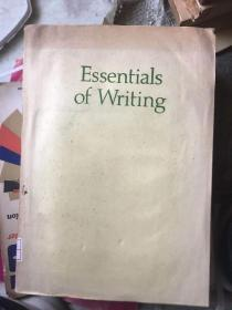 Essentials of Writing