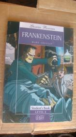 (Graded readers:level 4)  FRANKENSTEIN (Pack including reader,activity book, Audio CD) 两本书夹1张CD 塑封未折