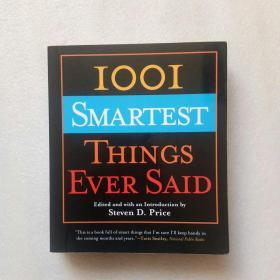 SMARTEST THINGS EVER SAID 英文原版