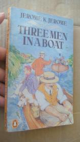 Three Men in a Boat:To Say Nothing of the Dog  <三怪客泛舟记>  1957年版 品好未划