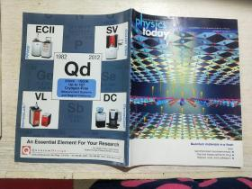physics today September 2012(英文 今日物理学  2012年9月) Quantum materials in a flash瞬间的量子材料