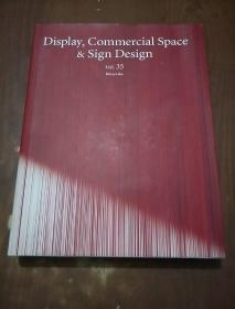 DISPLAY,COMMERCIAL SPACE & SIGN DESIGN  VOL.35