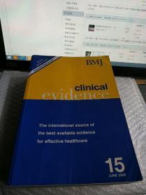 BMJ clinical evidence 15JUNE 2006