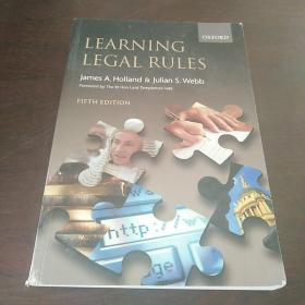 Learning Legal Rules: A Student's Guide to Legal Method and Reasoning(英文原版)