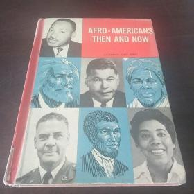 Afro-Americans, then and now (英文原版)