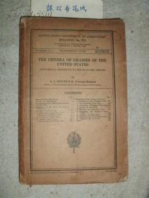 《The Genera of Grasses of the United States美国禾草属志》(1936年修定版) 『南京大学教授:耿以礼.耿伯介父子旧藏』