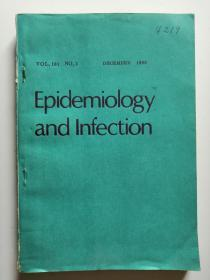 Epidemiology and Infection  DECEMBER  1988  (Formerly the Journal of Hygiene)  (英文原版杂志  流行病学与感染 1988年12月)