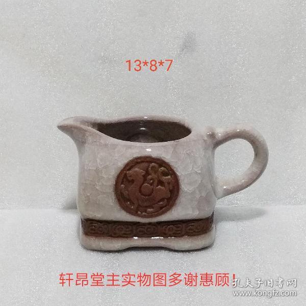 Fair cup shape, rich and simple, square purple flower pot