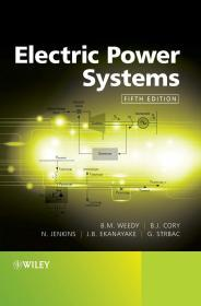 Electric Power Systems 5e Hardcover  英文原版  电力系统  B. M. Weedy