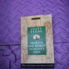 英文原版JULES VERNE      AROUND THE WORLD IN EIGHTY DAYS