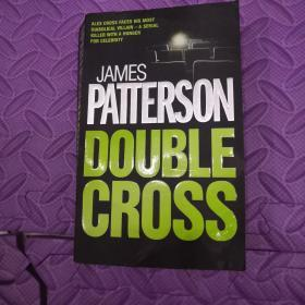 英文原版JAMES PATTERSON DOUBLE CROSS