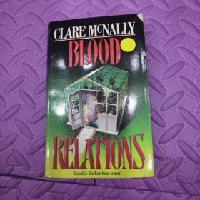 英文原版CLARE MCNALLY     BLOOD RELATIONS