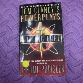 英文原版TOM CLANCY'S POWER PLAYS       CUTTING EDGE