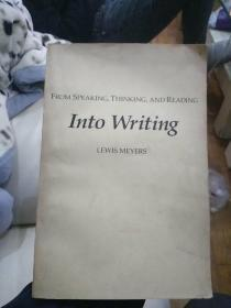 《FROM SPEAKING,THINKING,AND READING ,INTO WRITING》,从说话、思考、阅读到写作。
