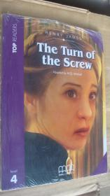 (TOP READERS level 4) The Turn of the Screw (Book including students book,multilingual glossary,Audio CD,teacher's notes) 24K英文原版书带CD 塑封未折
