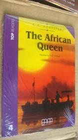 (TOP READERS level 4)The African Queen (Book including students book,multilingual glossary,Audio CD,teacher's notes) 书带CD 塑封未折