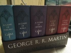 A Song of Ice and Fire (1-5):A Game of Thrones, a Clash of Kings, a Storm of Swords,