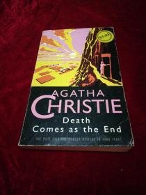 AGATHA CHRISTIE Death Comes as the End阿加莎·克里斯蒂的死就要结束了