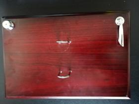 木制台历架