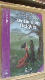 (TOP READERS level 4) Wuthering Heights (Book including students book,multilingual glossary,Audio CD,teacher's notes) 24K书带CD 塑封未折