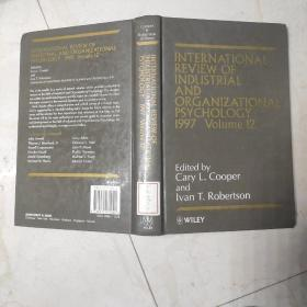 International Review of Industrial and Organizational Psychology 1997 volume 12