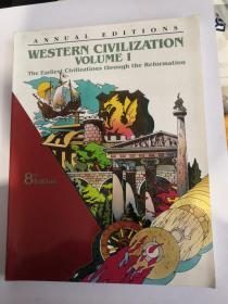 annual editions western civilization volume 1【8版】the earliest civilizations through the reformation